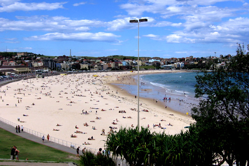 Bondi Beach on a quiet day